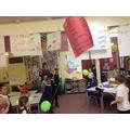 Jet air balloon