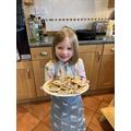 Isla super Welsh cakes - yummy!