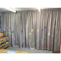 Our amazing new curtains - thanks Mrs Brown