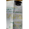 Feddies fab letter