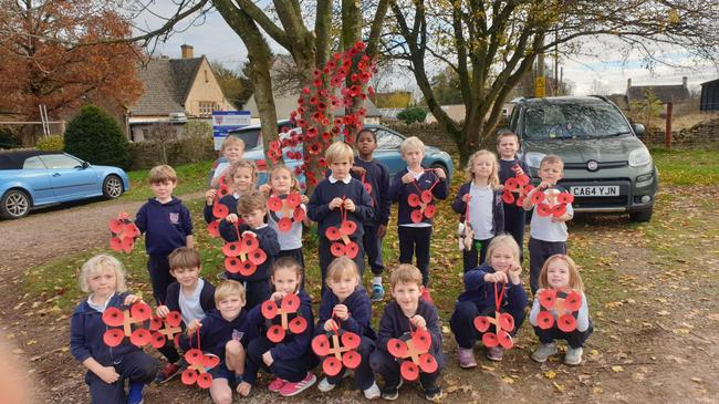 Class 2 Rememberance wreaths