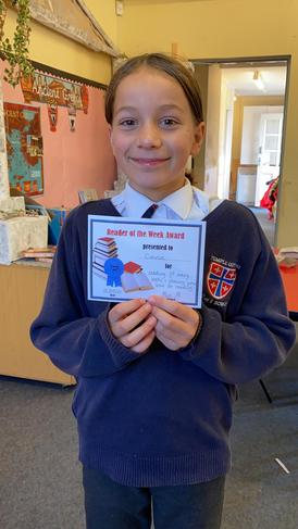 Connie is the reader of the week!