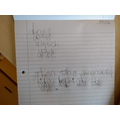 Otto's fantastic 'Clever Writer' sentence!