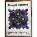 Lily's super rangoli pattern