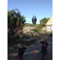 Enjoying and learning why these balloons could fly!