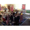 Having fun doing the adjective dance!