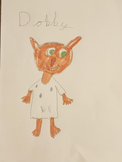 Joint 3rd place - Daisy's portrait of Dobby