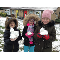 Look at our mini snowmen, Miss Ashfield!