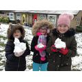 Look at our mini snowmen, Miss Ashfield!