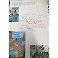 Year 1 are exploring feelings, using  'The Colour Monster through play and lessons.