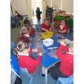 We have been using clay.