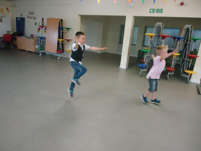 Lovely skipping!