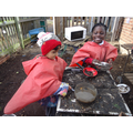 We love the Mud Kitchen!