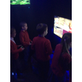 3DT on board our gaming bus!