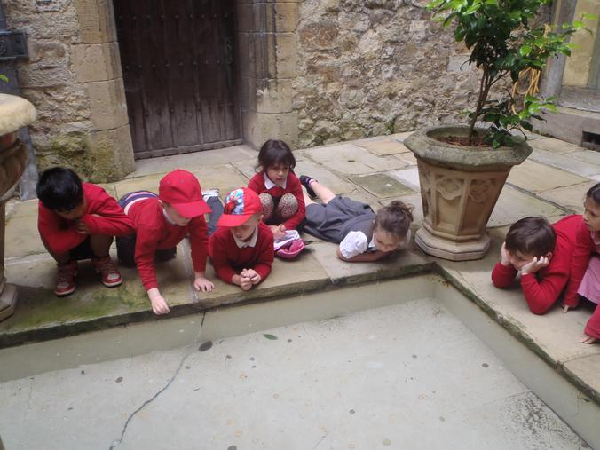 Further investigation of the wishing well!