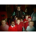 We met King Henry VIII in Leeds Castle.