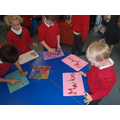 We are working on recognising our names.