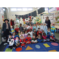 We dressed up for World Book Day.