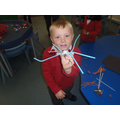 'My spider has 8 legs.'