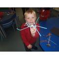 'My spider has 8 legs.'