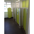 These are the toilets used by the Reception children.