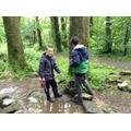 We found worms, slugs, beetles