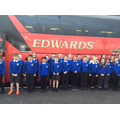 Welsh Rugby Team Bus Visit