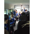 Back on the bus-
