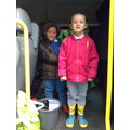 We've got our wellies on ready to go!