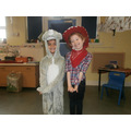 Shrew and Sam the stable girl