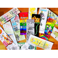 Winning bookmarks for World Book Day