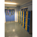 Every child has their own locker