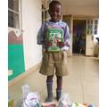 Junior with books