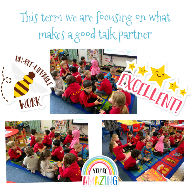 Working on what makes a good talk partner