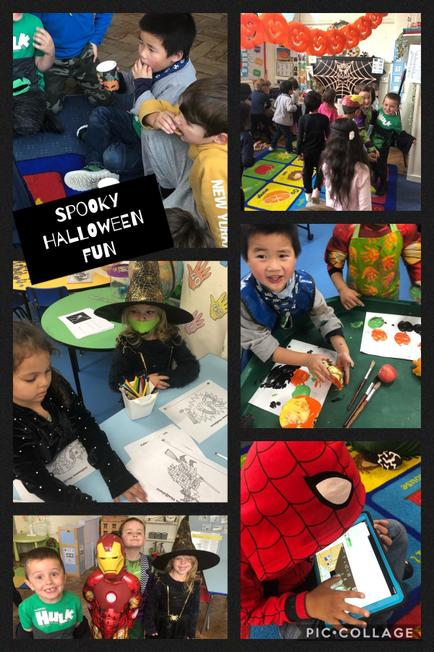 Spooktacular day celebrating Halloween and end of a busy half term!