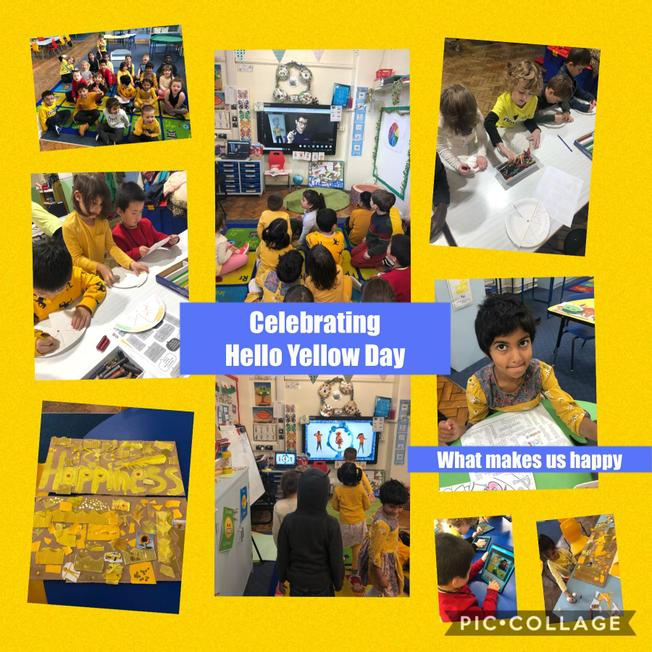 Supporting Young Minds, celebrating happiness for Hello Yellow Day