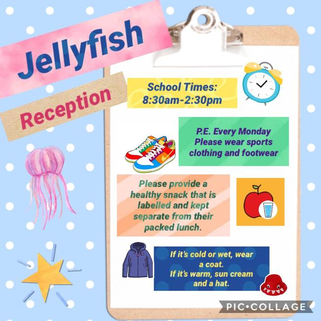 Information for Reception