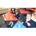 Year 2 - making poppies!