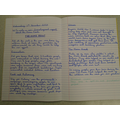 Year 6 - writing about the aspects of WW2