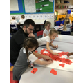 Year 1 - making poppies!
