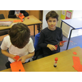 Year 3 - making poppies!
