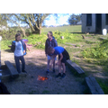 Bushcraft firelighting and fire safety