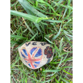 VE Day Rock I spotted on a walk.