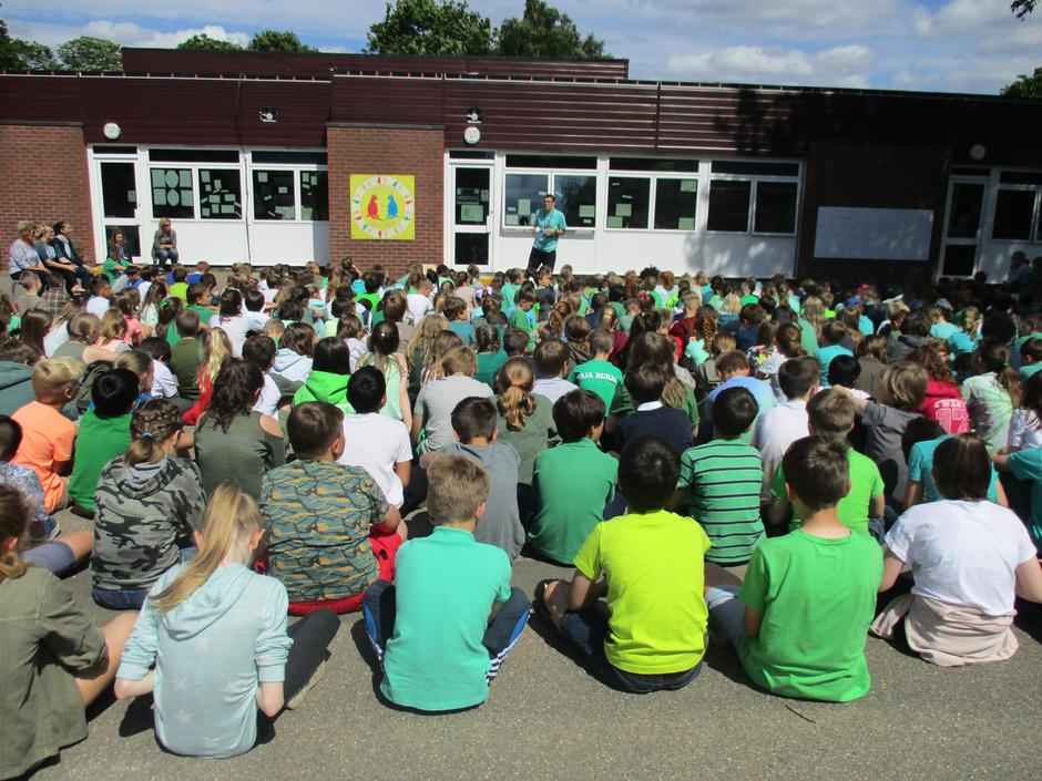 Green Day Assembly 2017
