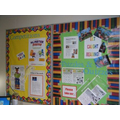 Displays in school