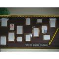 Displays in school