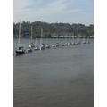 Boats social distancing!