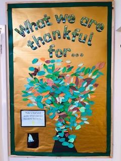 Our Whole School Thankful Tree