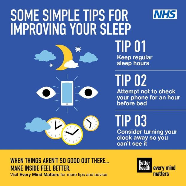 TOP TIPS FOR DEALING WITH SLEEP