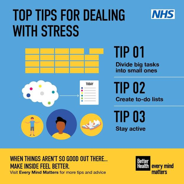 TOP TIPS WITH DEALING WITH STRESS